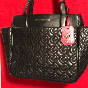DVF quilted Leather Shoulder Tote